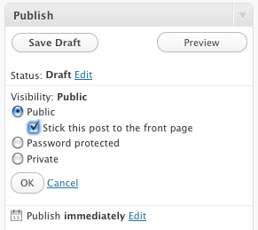 How to Add a Sticky Post to a Wordpress Category Archive Page