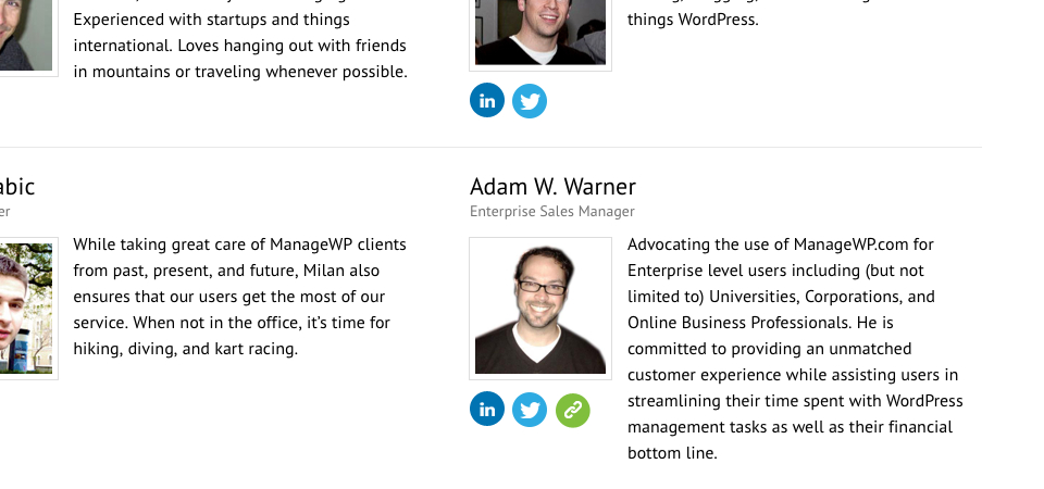 Announcement: I Am the Enterprise Sales Manager for ManageWP.com