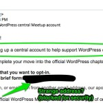 WordPress Email Phishing Scam: Meetup Organizer Takeover