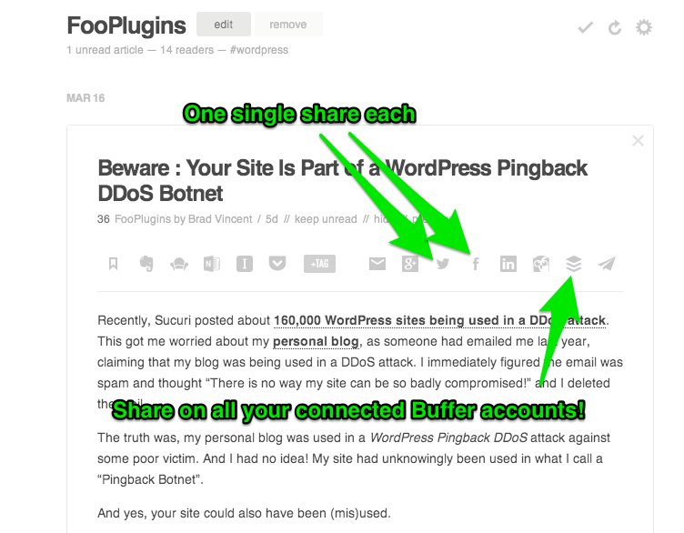 How I Find and Share Relevant Content for Building Businesses