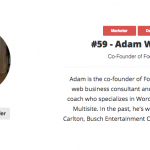 Nice Morning – I Made Another WordPress Influencer List