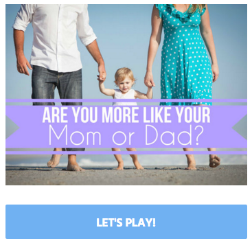 Personality – Do You Take After Your Mother or Father? Take the Test Now